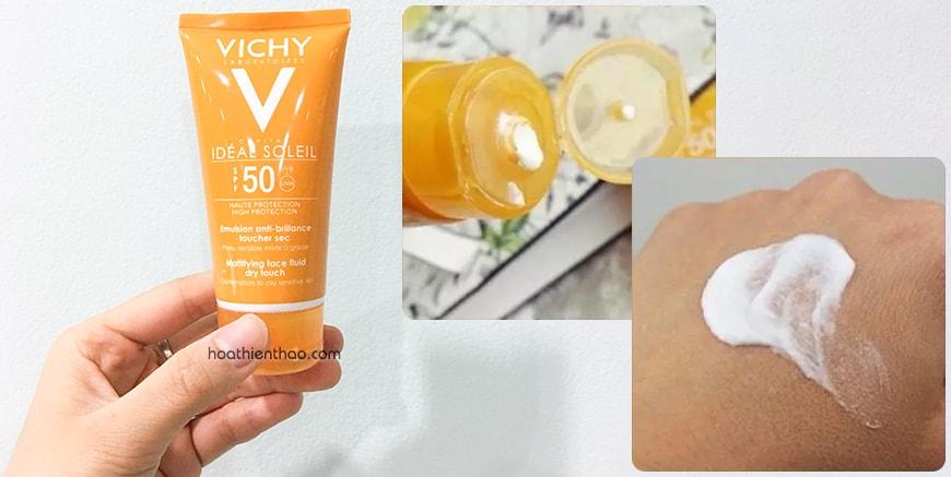 Cách dùng kem chống nắng Vichy hiệu quả