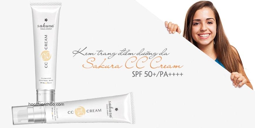 Chọn mua Sakura CC Cream của Nhật Bản