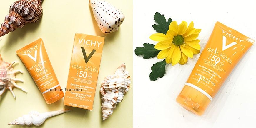 Kem chống nắng Vichy Idéal Soleil SPF 50