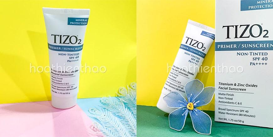 Kem dưỡng da chống nắng mùa hè TiZo2 SPF 40++++