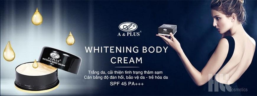 Kem dưỡng trắng da body A&Plus B012