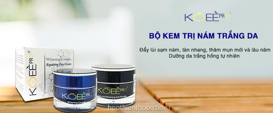 Koee Pro không hóa chất, an toàn cho mọi làn da