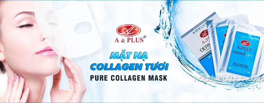 Mặt nạ collagen tươi A&Plus trẻ hóa da