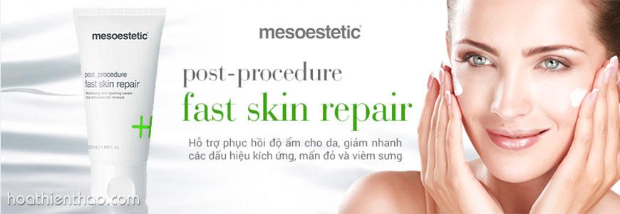 Mặt nạ làm dịu phục hồi da Mesoestetic Anti-stress Face Mask