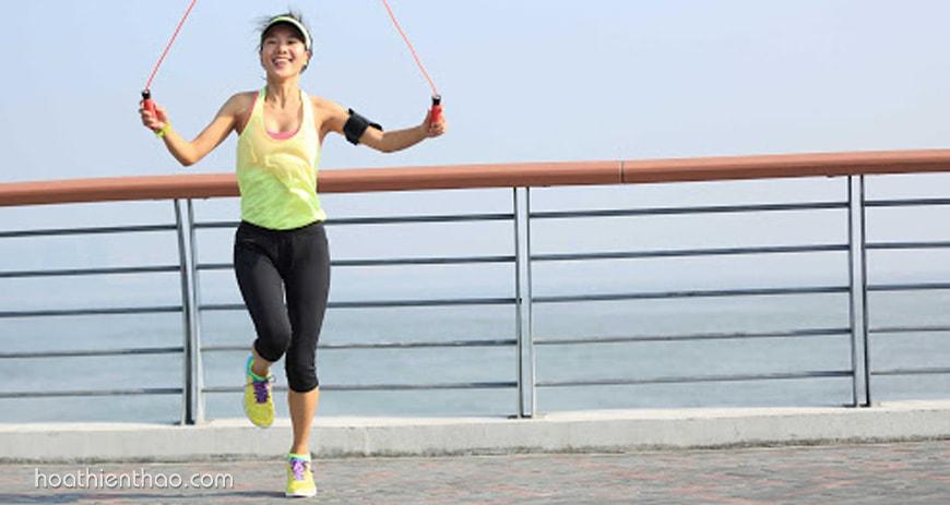 Nhảy dây giúp cơ bắp săn chắc, khỏe mạnh
