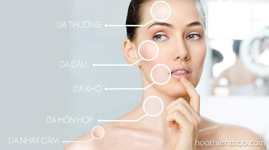 Sử dụng được cho mọi loại da kể cả da nhạy cảm
