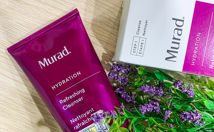 Sữa rửa mặt Murad Refreshing Cleanser - Cho da tươi tỉnh