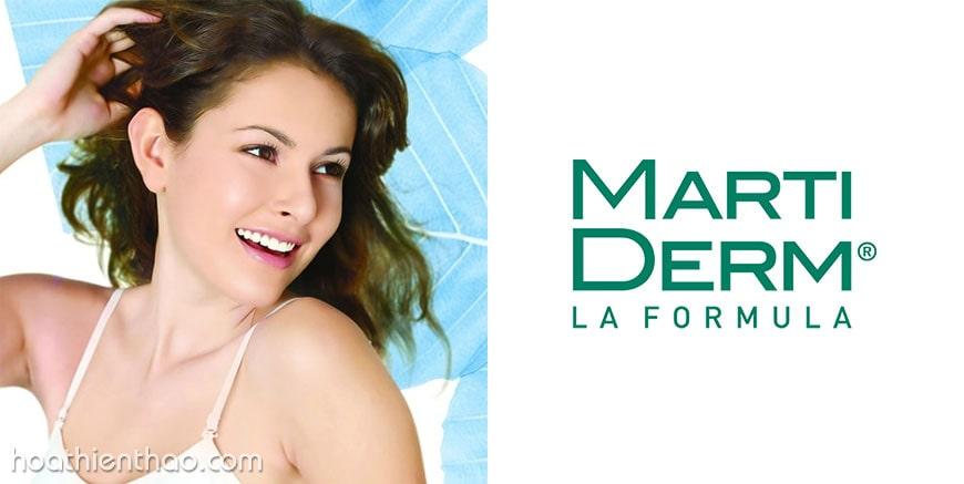 Thương hiệu dược mỹ phẩm MartiDerm - Hàng đầu tại Tây Ban Nha