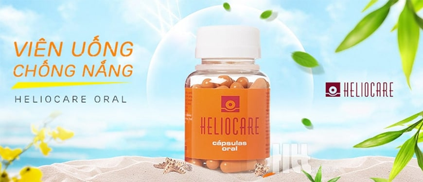 Viên uống chống nắng Heliocare không lo dị ứng