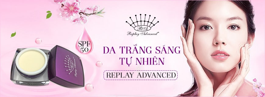 Kem dưỡng Replay Advanced SPF 50