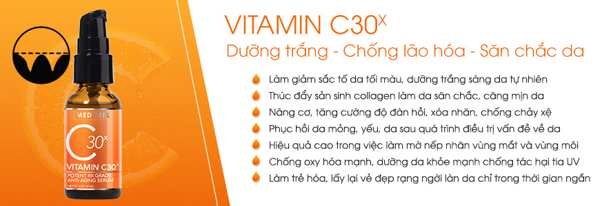 Serum vitamin C 30x Anti-aging - 30ml