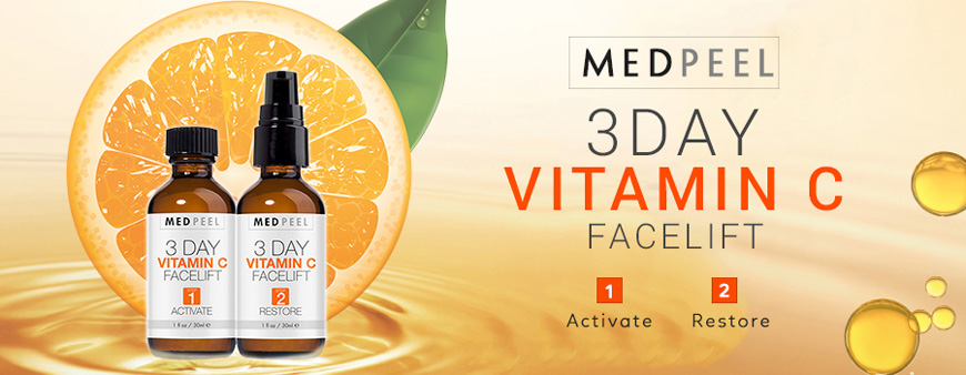 Bộ serum Medpeel Vitamin C 3-Day