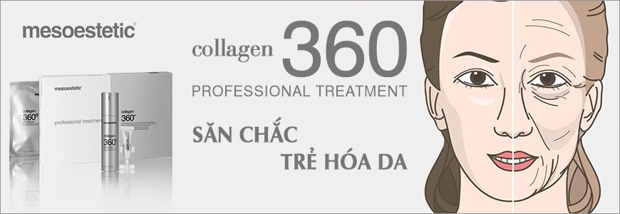 Bộ điều trị săn chắc và trẻ hóa da Mesoestetic Collagen 360 Professional Treatment 1