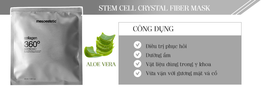 Stem Cell Crystal Fiber Mask