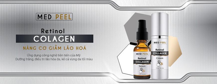 Serum chống lão hóa dưỡng trắng Medpeel Retinol Collagen