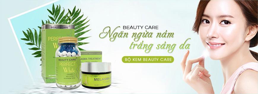 Bộ kem giảm nám tàn nhang, trắng da Beauty Care