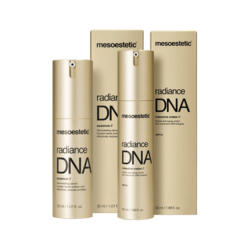 Bộ sản phẩm chống lão hóa ban ngày Mesoestetic Radiance DNA