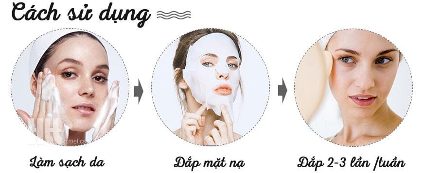 Cách sử dụng Mặt nạ trắng da cao cấp MartiDerm