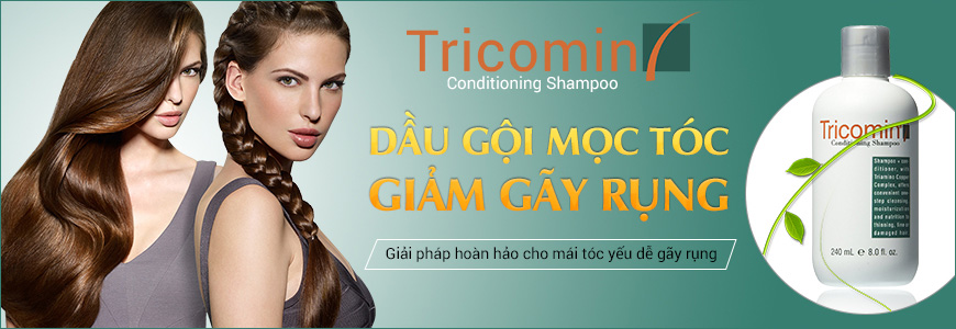 Dầu gội mọctóc Tricomin Conditioning Shampoo