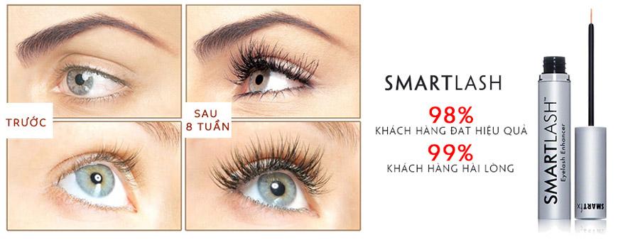 Hiệu quả Serum mọc mi Smartlash Eyelash Enhancer