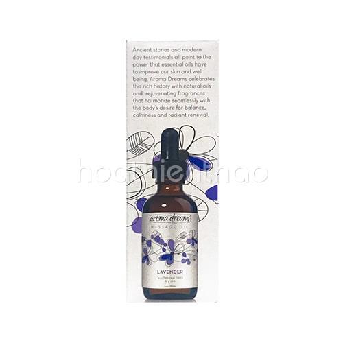 Dầu dưỡng massage Aroma Lavender