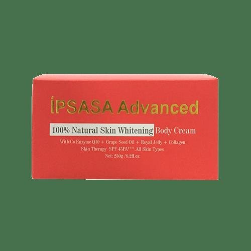 Kem dưỡng trắng da toàn thân íPsasa Advanced SPF 45+++