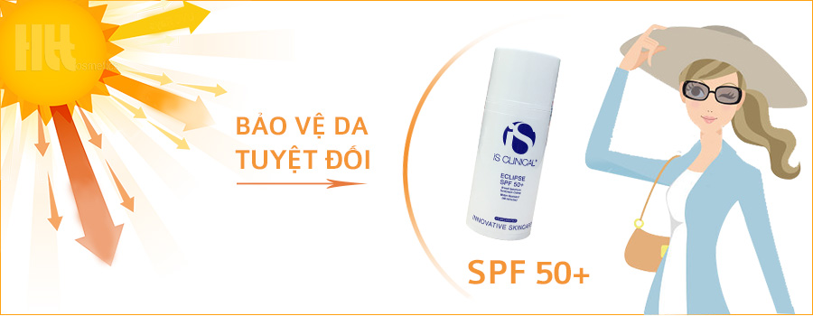 Kem chống nắng phổ rộng iS Clinical Eclipse SPF 50+