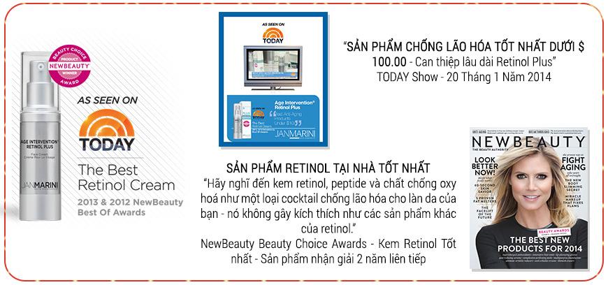 Kem chống lão hóa trẻ hóa da Jan Marini Age Intervention Retinol Plus 2