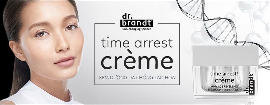 Kem chống lão hóa da Dr. Brandt Time Arrest Crème