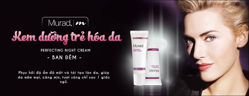 Kem dưỡng trẻ hóa da ban đêm Murad Perfecting Night Cream 1