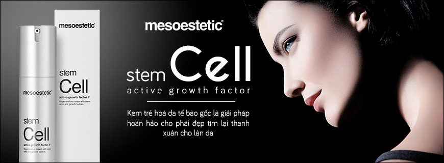 Kem trẻ hóa da tế bào gốc Mesoestetic Stem Cell Active Growth Factor 1