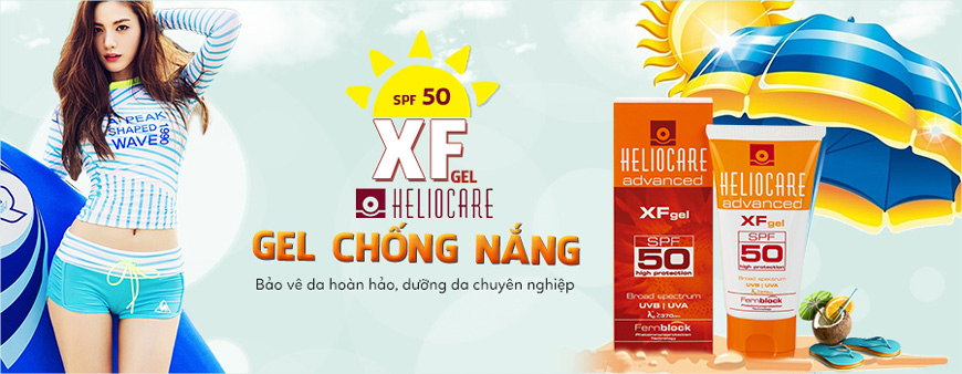 Gel chống nắng Heliocare Advanced XF Gel SPF 50 1