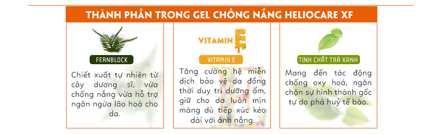 Gel chống nắng Heliocare Advanced XF Gel SPF 50 2