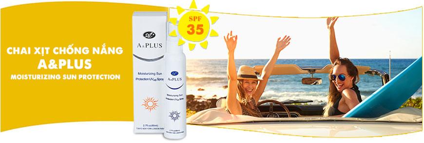 Kem chống nắng A&Plus Moisturizing Sun Protection B009