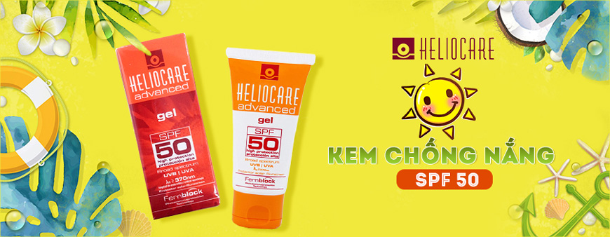 Kem chống nắng Heliocare SPF 50 dạng gel 1
