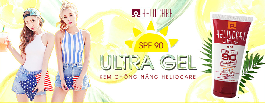 Kem chống nắng dạng gel Heliocare Ultra SPF 90