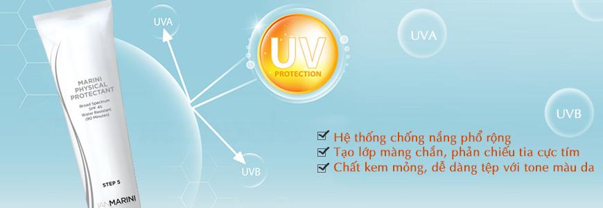 Kem chống nắng Jan Marini Physical Protectant SPF 45 2