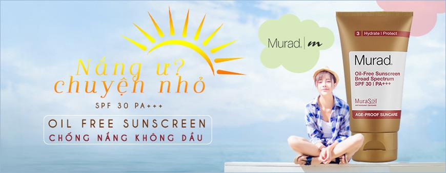 Kem chống nắng không dầu Murad Oil Free Suncreen Broad Spectrum SPF 30 PA+++
