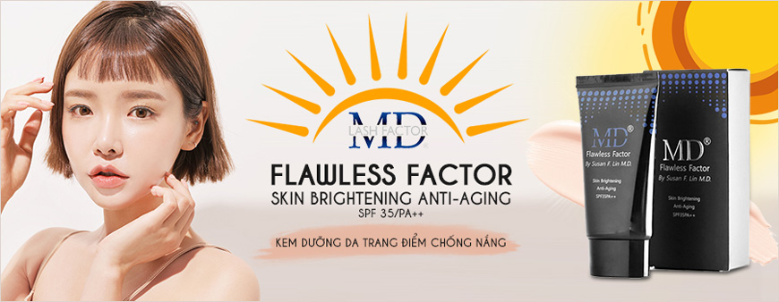 MD Flawless Factor SPF35/PA++