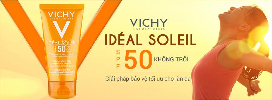 Kem chống nắng Vichy Idéal Soleil SPF 50+ 1