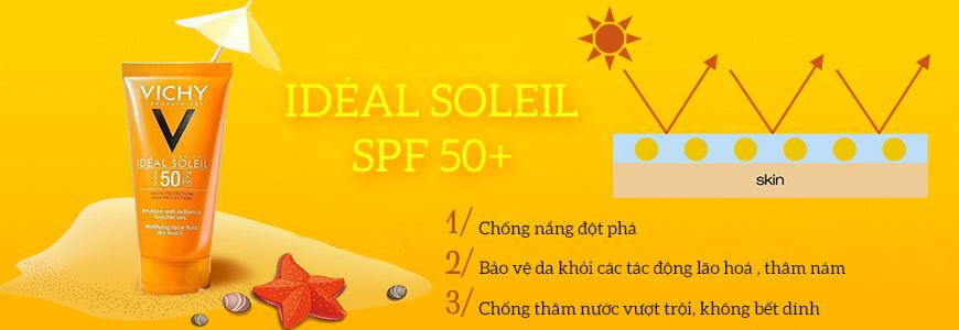 Kem chống nắng Vichy Idéal Soleil SPF 50+ 2