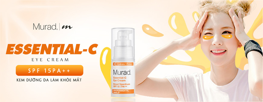 Kem dưỡng da chống nắng vùng mắt Essential-C Eye Cream SPF 15 1