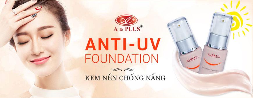 Kem nền chống nắng A&Plus Anti-UV Foundation A013