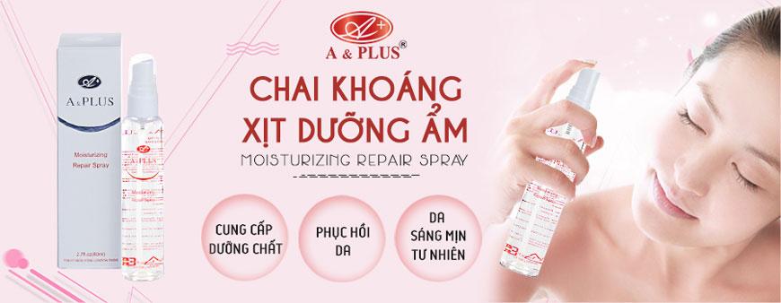 Chai xịt khoáng A&Plus Moisturizing Repair Spray B010