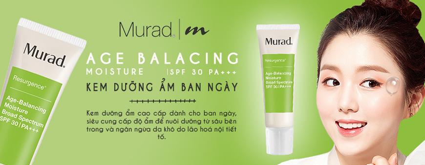 1. Kem dưỡng ẩm ban ngày Murad Age Balancing Day SPF30 PA+++