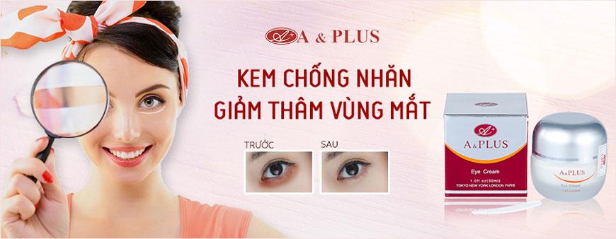 Kem chống nhăn vùng mắt, giảm thâm A&Plus Eye Cream A007 1