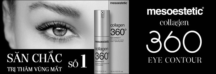 Kem collagen giảm rãnh nhăn, săn chắc da vùng mắt Mesoestetic Collagen 360 1