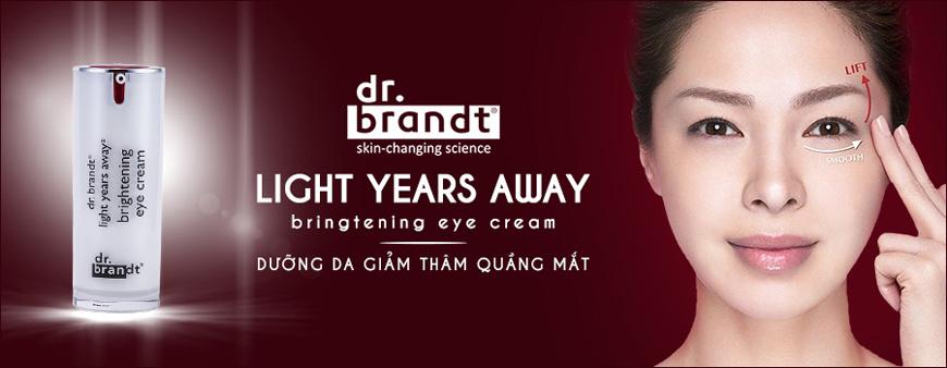 Kem dưỡng da trị thâm quầng vùng mắt Dr. Brandt Light Years Away