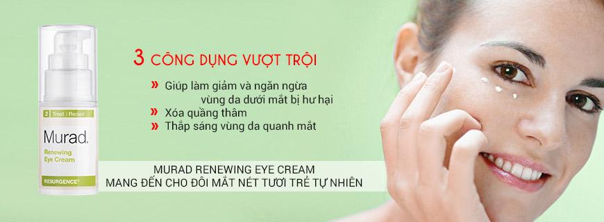 Kem tái tạo và hồi sinh vùng mắt Murad Renewing Eye Cream 2