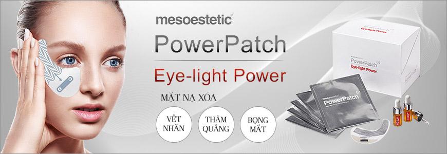 Mặt nạ xóa nhăn, quầng thâm, bọng mắt Mesoestetic Power Patch Eye-Light 1